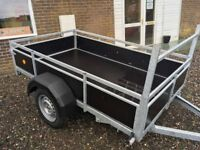 7'x4' Single Axle 750kg Unbraked Trailer