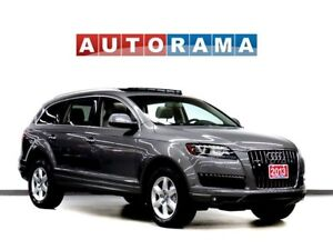 2013 Audi Q7 BACKUP CAM LEATHER PAN SUNROOF 4WD 7 PASS