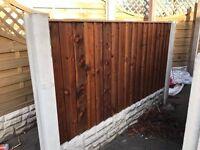 Tantalised fence panels