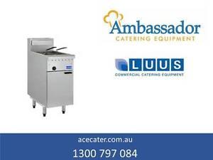 Luus Essentials Series Single Pan Twin Basket Fryer FG-40 Geebung Brisbane North East Preview