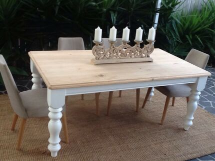 Beautiful solid timber dining table