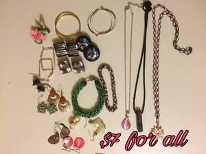 Costume Jewelry lots 10 available