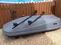Thule car carrier and Thule Roof Bars