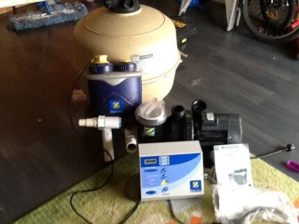 Zodiac pool pump and filter Seaford Rise Morphett Vale Area Preview