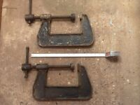 Extra Large G Clamps