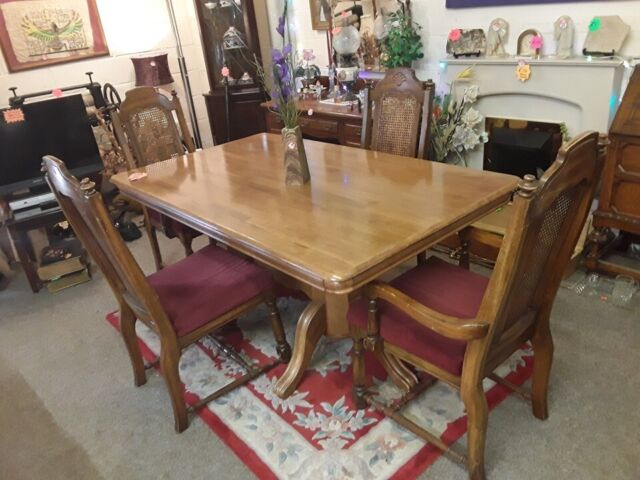 Remarkable Solid Maple Dining Table Chairs Copley Mill Low Cost Moves 2Nd Hand Furniture Stalybridge Sk15 3Dn In Stalybridge Manchester Gumtree Ibusinesslaw Wood Chair Design Ideas Ibusinesslaworg