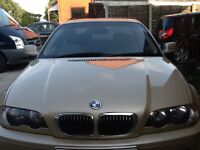 BMW 323 CI FULL 12 MONTHS MOT BMW SERVICE HISTORY JUST HAD NEW BATTERY FITTED £799 NO OFFERS AT ALL