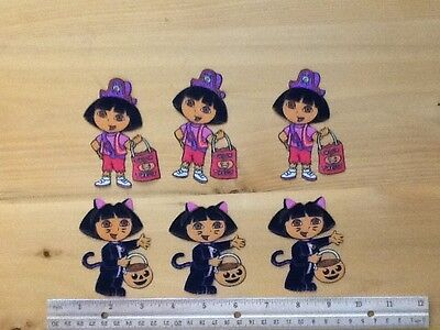 Dora the Explorer HALLOWEEN Fabric Iron On Appliques (style #10) (Dora The Explorer Halloween)