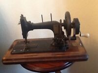 Antique Frister and Rossmann sewing Machine on Arding and Hobs Base