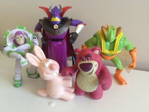 Toy story bundle - Zurg, buzz, lotso and others Wattle Grove Liverpool Area Preview