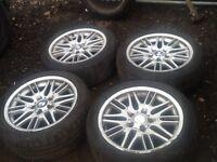 "Bmw 17"" 5x120 alloy wheels"