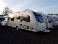 2013 Sterling Eccles Elite Opal 4 Caravan FIXED SINGLE BEDS, MOTOR MOVER !