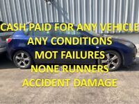 TOP MONEY PAID FOR UNWANTED SCRAP CARS VEHICLE NONE RUNNERS MOT FAILURES HANDSWORTH