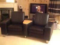 Ekornes Stressless 2 Seater Reclining Sofa