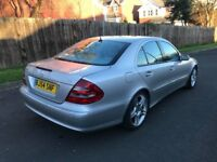 MERCEDES E270,FULL SERVICE HISTORY,MAY TAKE CHEAP TRANSIT AND CASH