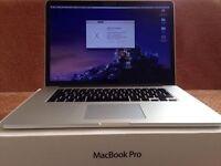 """Apple MacBook Pro Retina 15"""" i7 2.4Ghz 8GB 256GB SSD Nvidia GT 650M (Early 2013)"""