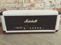 Rare White Marshall VBA400 Valve Bass Amplifier