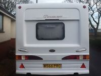 4 berth caravan with all extra's including