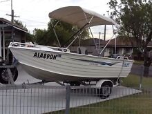 Seajay escape 4.45 yamaha 40 hp low hours suits fussy buyer price drop Bankstown Bankstown Area Preview