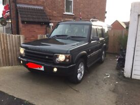 Land Rover discovery td5 face lift front bumper
