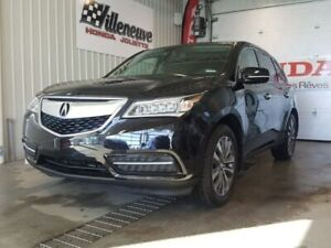 2015 Acura MDX Navigation Package full avec bas millage