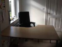 IKEA Birch Corner Desk