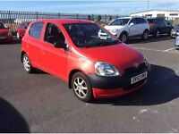 2002 Toyota Yaris 1.0 GS 5 Door