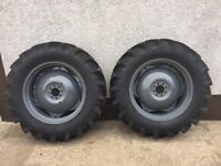 12.4/11 28's mf 35 135 t20 dexta ford 3000 new tyres
