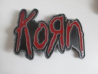 Metal Belt Buckle made for fans of the band Korn.