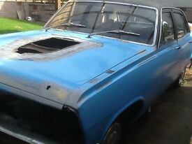 VAUXHALL CRESTA PC RESTORATION PROJECT CLASSIC