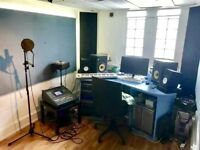 Rehearsal studio and recording space to hire