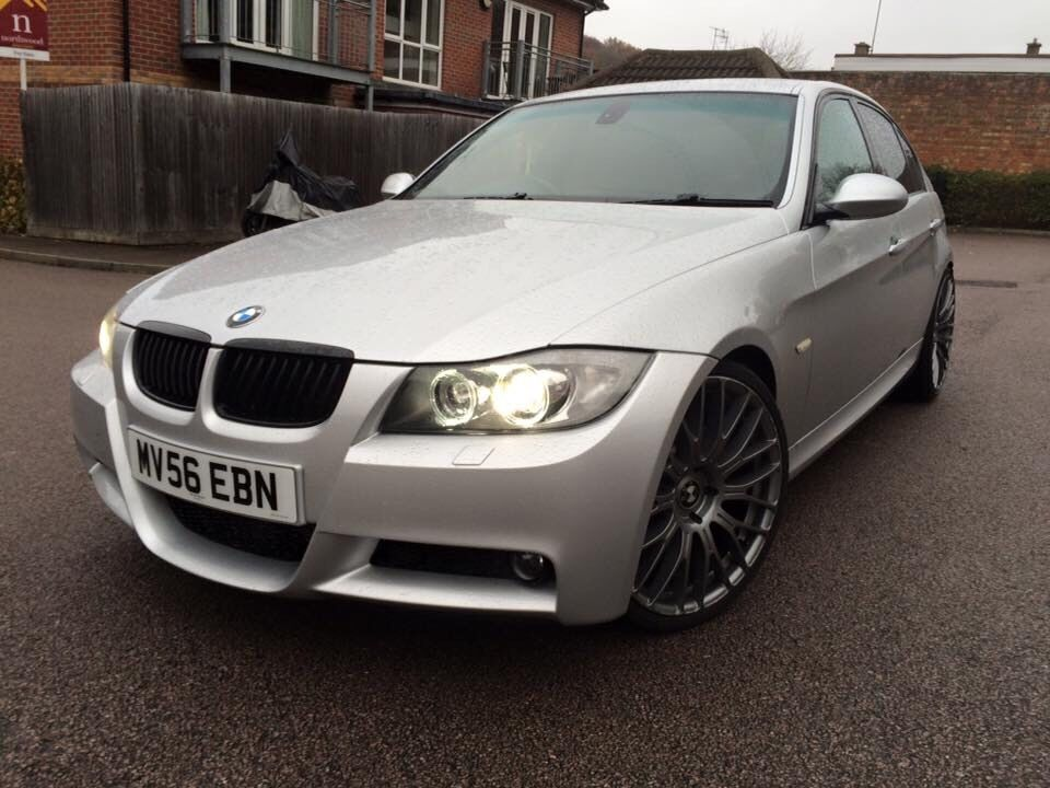 bmw 330d sport e90 modified remapped fast full spec in. Black Bedroom Furniture Sets. Home Design Ideas