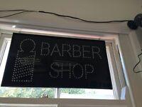Barber shop SIGN light