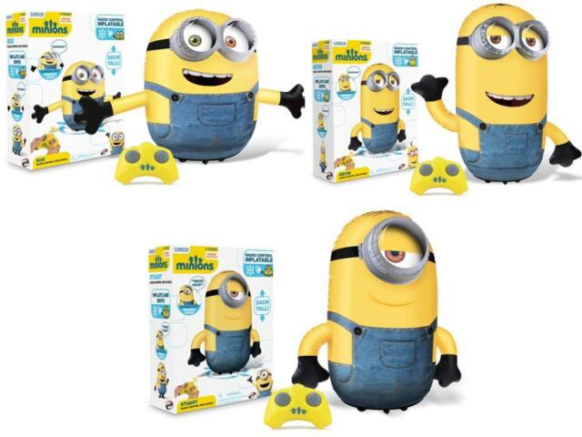Despicable Me Inflatable remote controlled Mini Minions Kevin Stuart Bob NEW