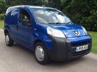 Peugeot bipper 1.4 hdi. Diesel. 59. Reg. 1. Years mot