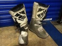 MOTORCROSS GEAR HELMET BOOTS AND CLOTHING