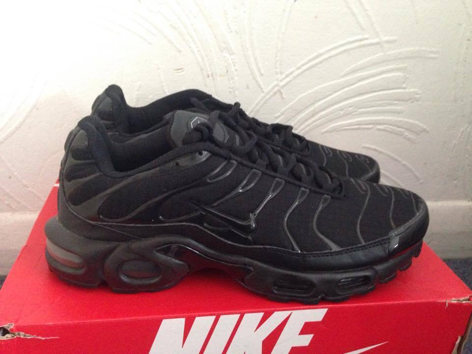 Nike tuned 1 tn air triple black mens shoes all sizes in catford