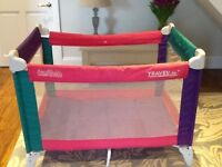 Travelite travel cot and playpen