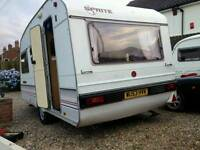 Caravan 4 berth great condition for age complete set up ready to go motor mover