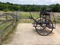 Bell crown horse cart fit up to 15.2hh