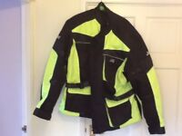 Motorbike jacket size XL hardly worn £25