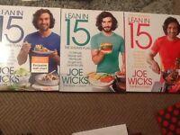 Joe wicks lean in 15 book set