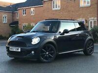 R56 FACELIFT 2007 MINI COOPER S, PAN ROOF, FSH, 2 KEYS HPI CLEAR BARGAIN (may px bmw, audi, mercedes