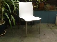 Four well designed chairs suitable for house or garden. Very covmfortable and robust.