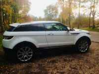 RANGE ROVER EVOQUE 2014 White Diesel Automatic VERY LOW MILEAGE & CHERISHED NUMBER PLATE!!!