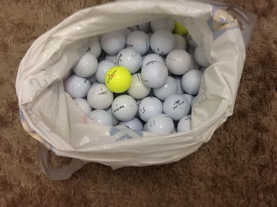 100 USED GOLF BALL £10