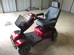 Invacare Meteor 4 wheel mobility scooter with charger Rosewood Ipswich City Preview