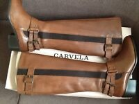 Ladies Carvela brown riding style leather boots bought from John Lewis -£60