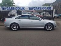 RARE AUDI A8, 2005 AUTOMATIC DIESEL QUATTRO TDI SPORT!! FULL 1 YEARS MOT ONLY £4995