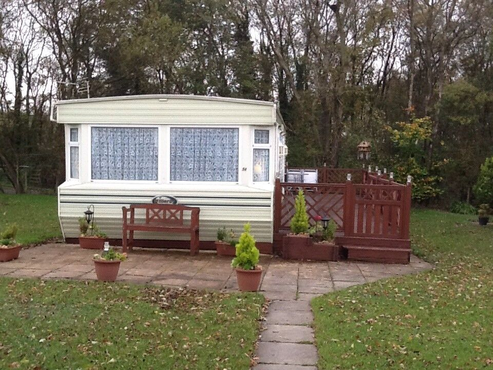 STATIC CARAVAN FOR SALE OFF SITE WITH CONTRIBUTION TOWARDS TRANSPORT COST